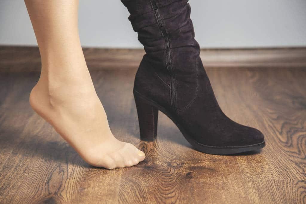 chaussure hallux valgus