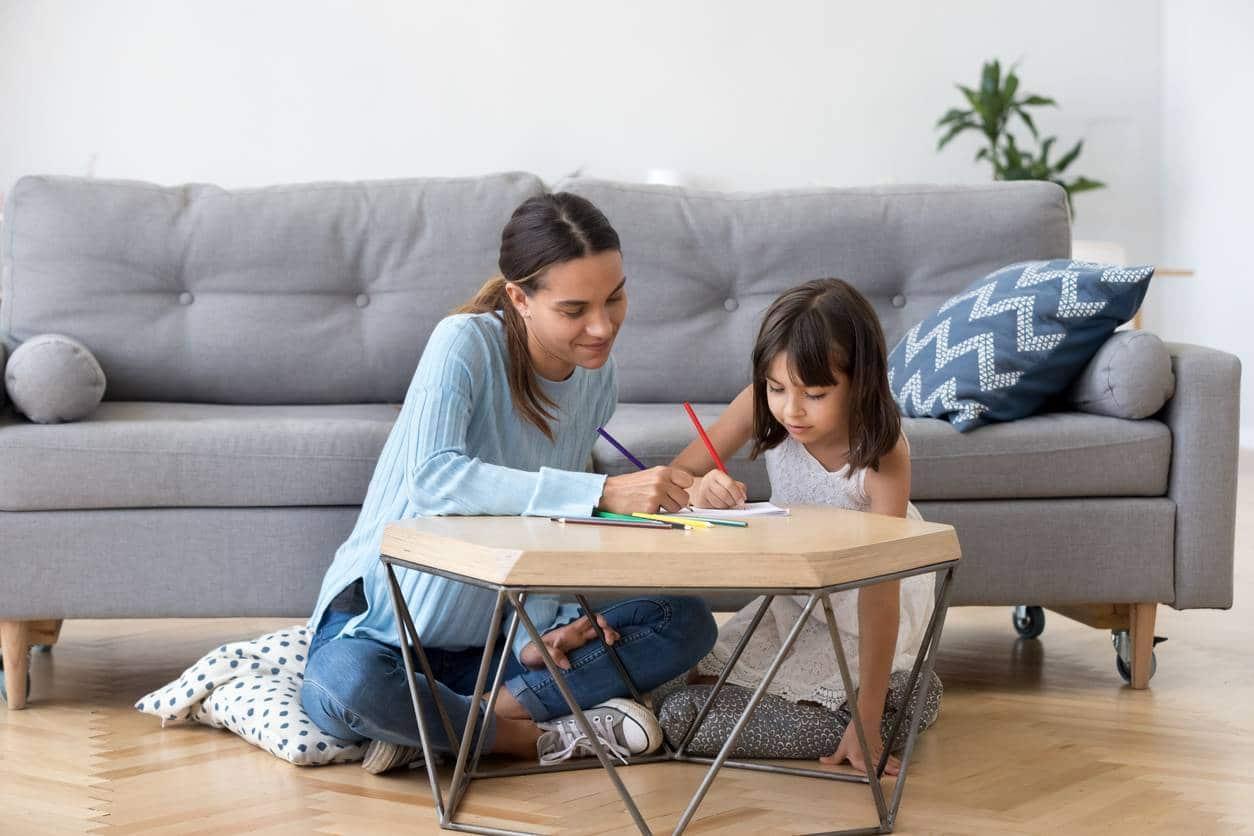 Service de garde d'enfant à domicile