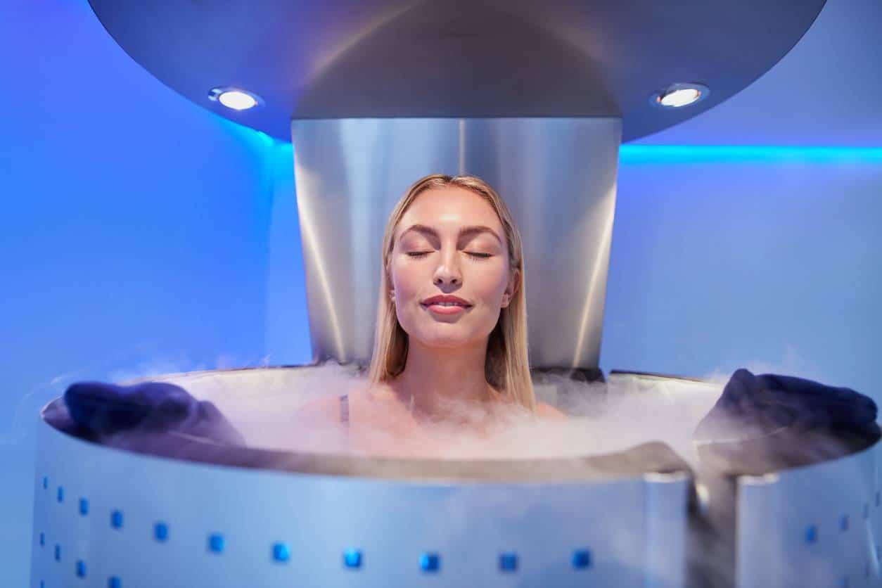 cryothérapie ; thérapie froid ; zones concernées