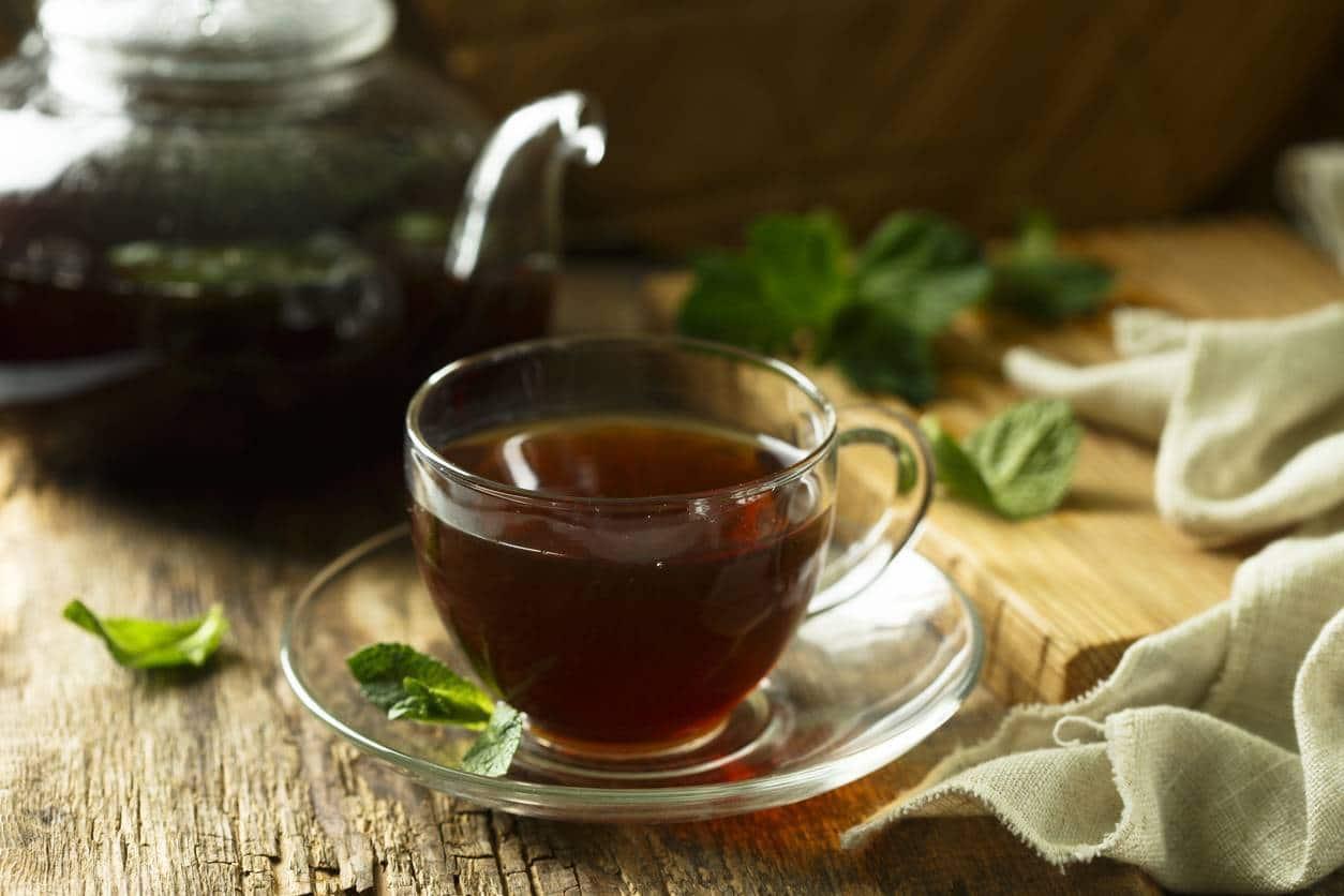 étapes pour préparer le thé