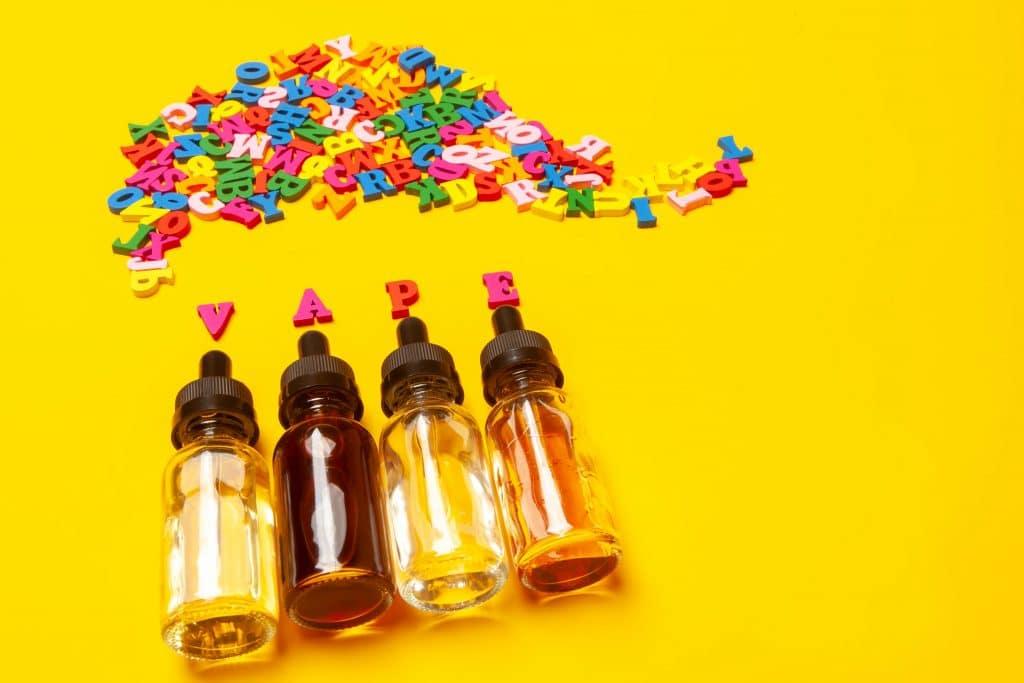Que contient un e-liquide bio?